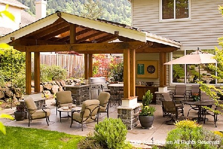 Sundance landscaping outdoor rooms for Outdoor living space plans
